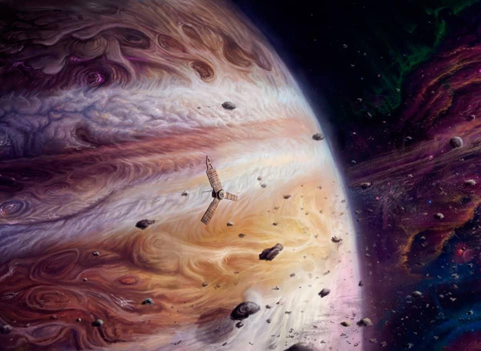 Соединения Юпитера в натальной карте