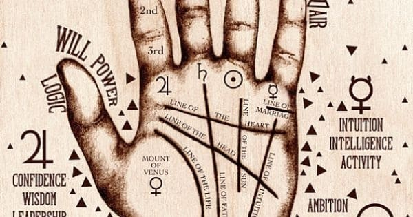 Линия Солнца на руке - значение в хиромантии