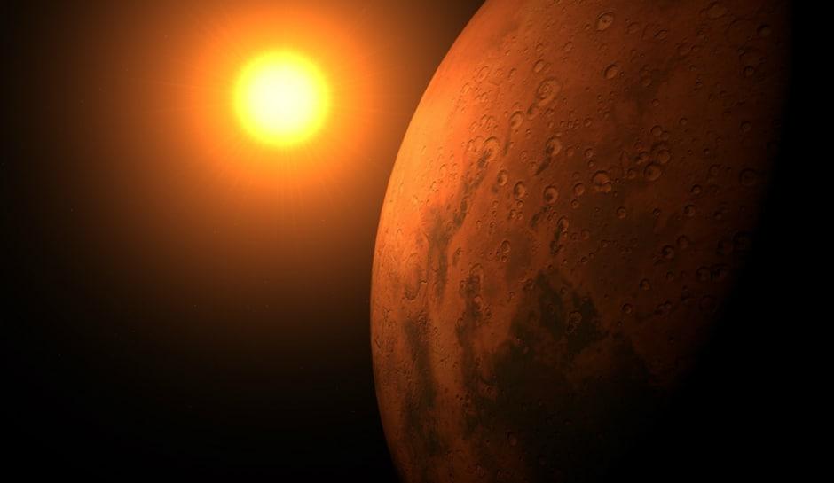 соединение солнце марс