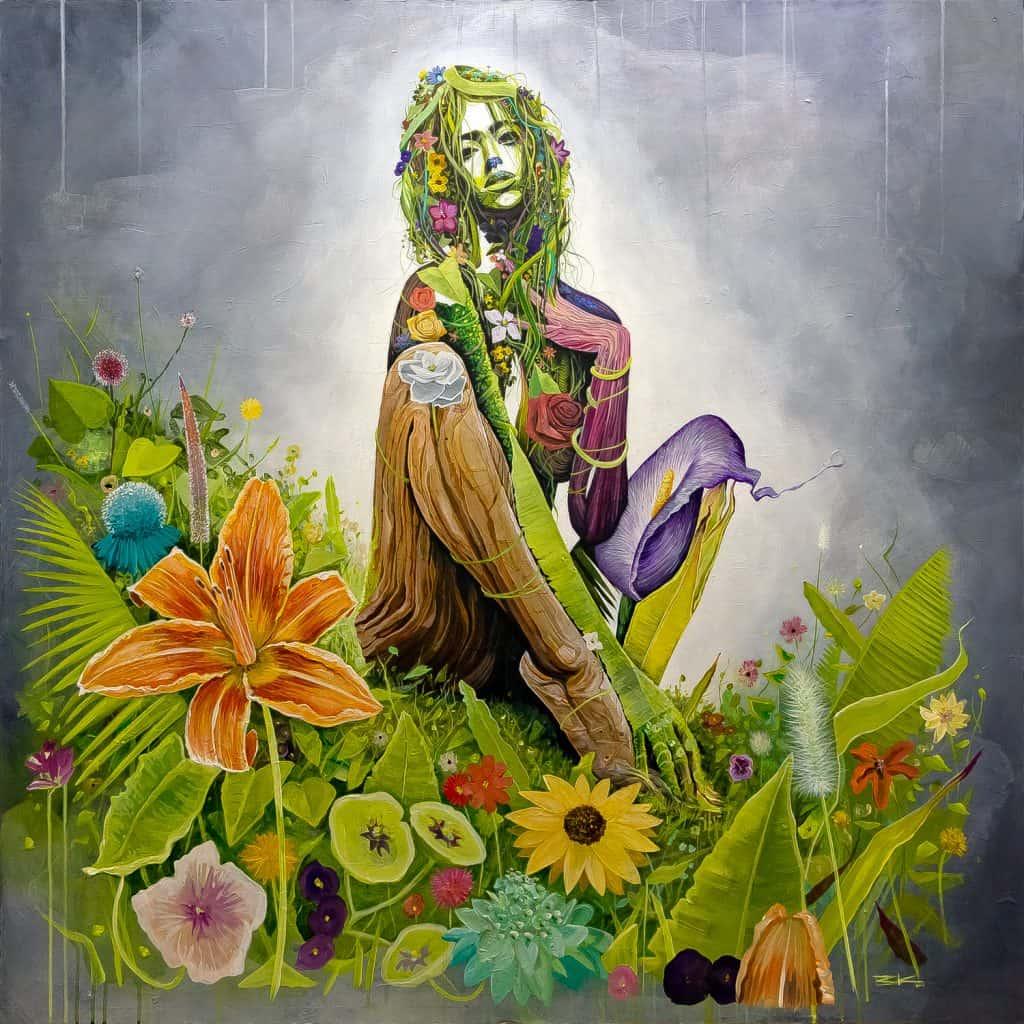 женщина стихии земля