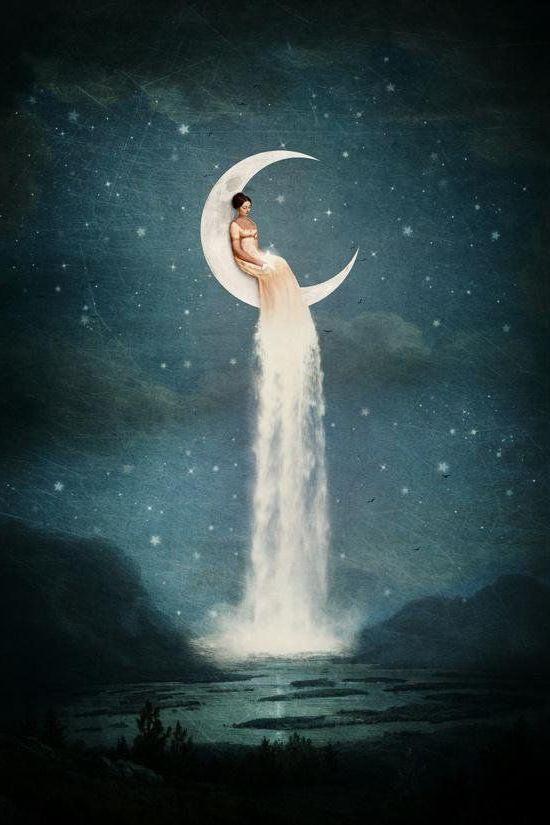 практики на убывающую луну