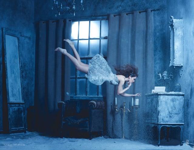женщина стихии воздух