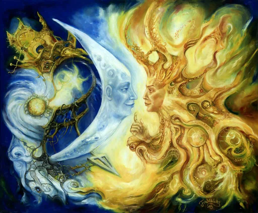 влияние лунного затмения на человека