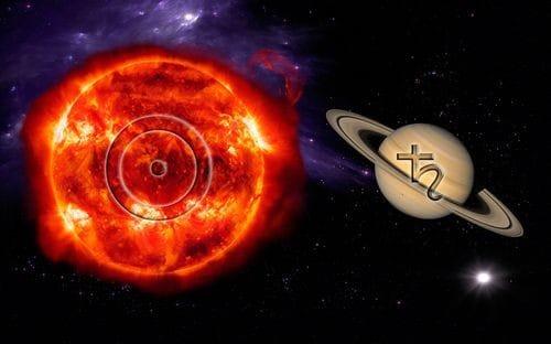 солнце сатурн в астрологии