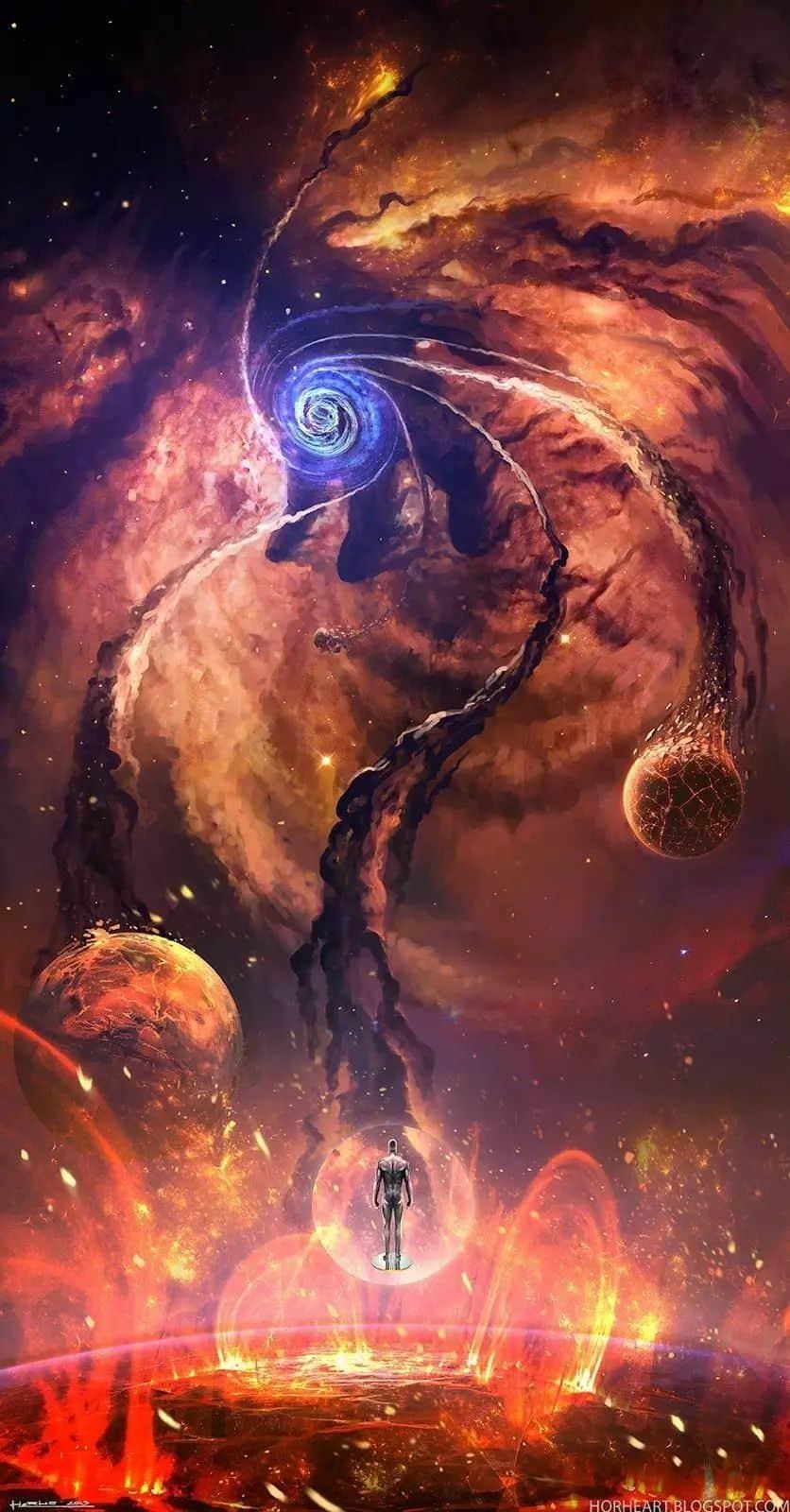 сожжение планет