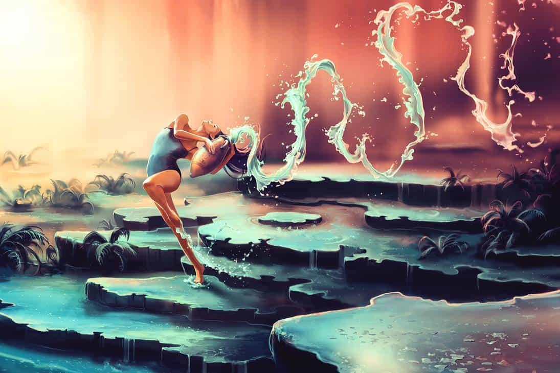 Женский знак зодиака водолей